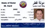 My Qatar ID. Card