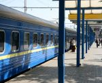 Arriving at Simferopol railway station